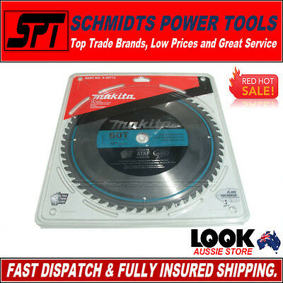 """MAKITA 60T 305mm 12"""" A-93712 POLISHED MITRE SAW BLADE 60 TOOTH DROP SAW BLADE"""