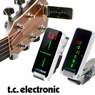 TC Electronic Polytune 2 Clip Guitar Headstock Tuner Clip on
