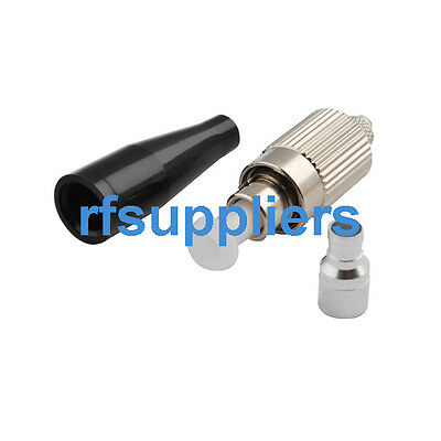FC Singlemode Fiber Optic connector adapter with 3mm boot
