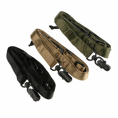 Heavy Duty Tactical Single Dual Point Multi Mission Rifle Gun Sling System