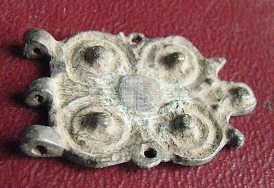 Authentic Ancient Artifact > Frankish Merovingian Belt Decoration Buckle ALS 32
