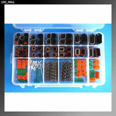 358 PCS DEUTSCH DT Genuine Black & Grey Connector Kit, USA