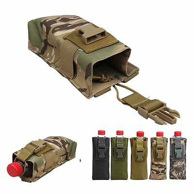 Outdoor Military Tactical Camping 600D Molle Bottle Radio Holder Pouch Bag