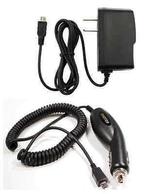 Car+Wall Home AC Charger for TMobile/MetroPCS/Univision ZTE ZMax Z Max Z970