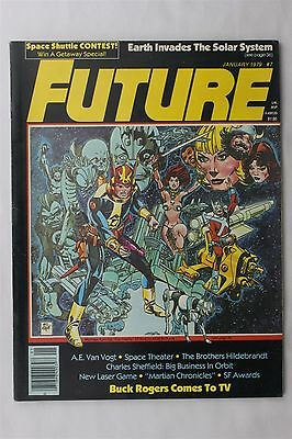 Future The Magazine Of Science Adventure 7 1979 Buck Rogers Gil Kane Art Fiction