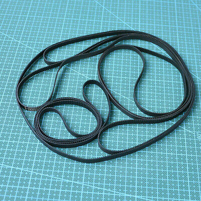 B450/B453/B680 MXL DIY Annular Loop Cogged Gear Rubber Timing Belt