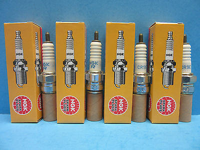 Set of 4 OES NGK 6263 Spark Plugs CR9E Nickel Made in Japan