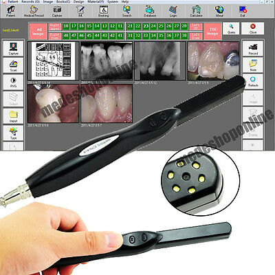 Dental HD USB 2.0 Intra Oral Camera 6 Mega Pixels 6-LED Clear Image New Software