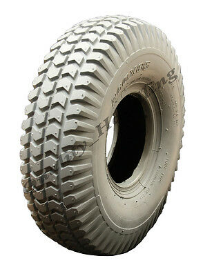 1 brand new Grey Mobility Scooter tyre 260 x 85 block tire 3.00-4 non marking