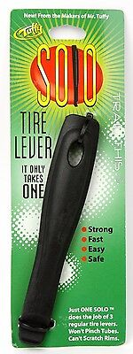 Mr Tuffy Solo Bicycle Tire Lever Easy Flat Tube Change Tool Road BMX MTB