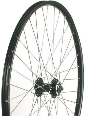 Alex Rims Qr 6-Bolt Front Disc Mtb Bike Wheel Black