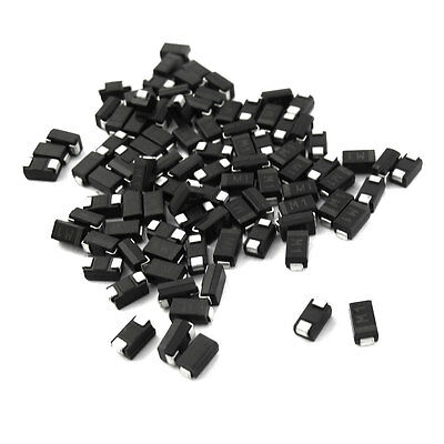80 Pcs Semiconductor SMD 1N4001 Rectifier Diodes 30A 50V
