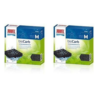 Juwel Compact Carbon Sponge Filter Media (Bioflow 3.0) *Genuine* (2x2) BUNDLE