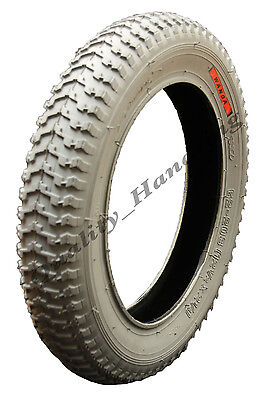 "1 12 1/2 x 2 1/4"" Grey Mobility Scooter tyre - Wanda P1092"