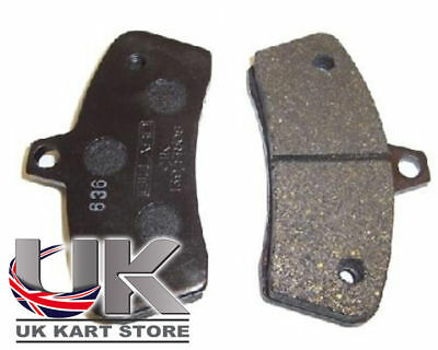 Black Gillard Brake Pad Set Go Kart Karting Race Racing