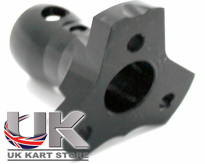 20mm Steering Boss Extra Tilt Black UK KART STORE