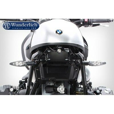 Wunderlich LOW licence plate holder Devil Eye taillight BMW NineT