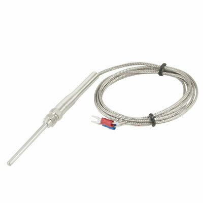 K Type Thermocouple Temperature Controller Sensor Probe 2 Meters 6.56 ft