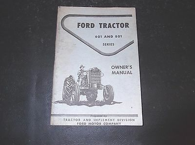 Ford 601 801 series tractor operator owners manual all purpose ford series 601 801 all purpose special utility tractor owners operators manual fandeluxe Choice Image