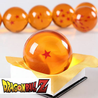 New Dragonball Z Dragon Ball Large 1 Star Crystal Resin 3'' 7.6cm 1pc only *USA