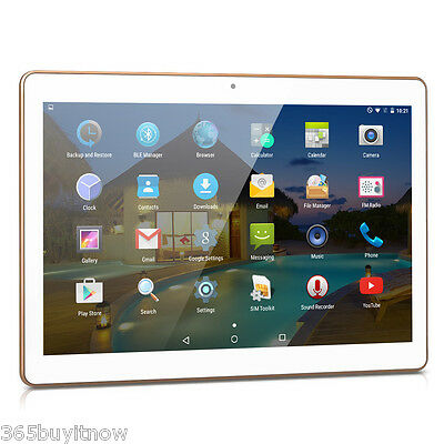 """Excelvan 10"""" Inch Quad Core Android 5.1 16GB Dual Camera WIFI Tablet PC Tab PAD"""