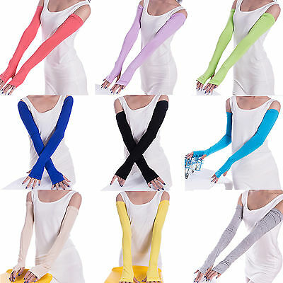 Up Anti-Slip Sport Arm Cooling Sleeve Glove UV Sun Protect Cover Golf Drive