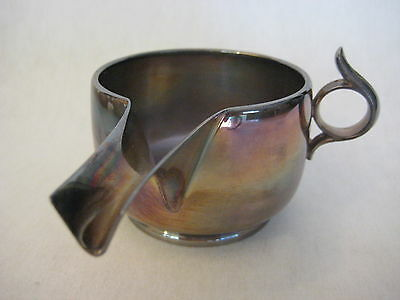 Elegant Silverplated Gorham For Horizon Reproduction Of Ancient Roman Trulla