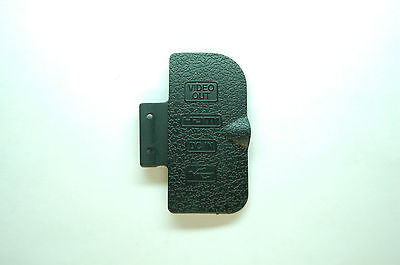 OEM Replacement Part for Nikon D300 USB/HDMI DC IN/VIDEO OUT Rubber Door Cover