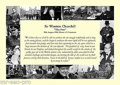 "Winston Churchill ""The Few"" Speech 20th August 1940 - RAF Battle of Britain WWII"