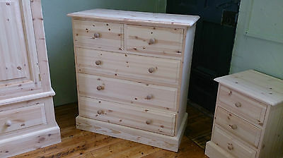 Edwardian Pine 5 Drawer Chest Any Finish