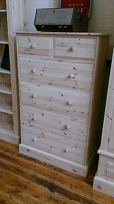 Edwardian Pine 6 Drawer Jumper Chest - Any Finish