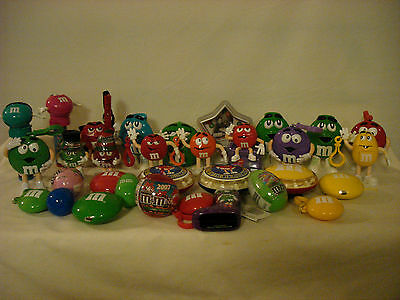 M&m's Collectible Candy Containers And Dispensers M&m Shaped Character Shaped