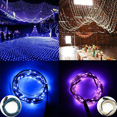 2M 20led/3M 30led AA Battery Power,10M 100led DC-12V String Fairy Starry Light