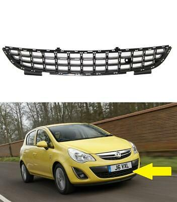 Vauxhall Corsa D 2011 2014 Front Bumper Centre Grille New Insurance Approved