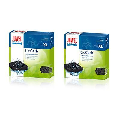 Juwel Jumbo Carbon Sponge Filter Media (Bioflow 8.0) *Genuine* (2 x 2) BUNDLE