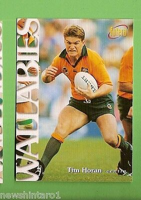 1996 Rugby Union  Card #14 Tim Horan, Wallabies