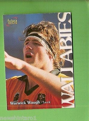 1996 Rugby Union  Card #29 Warwick Waugh, Wallabies