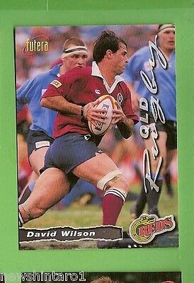 1996 Rugby Union  Card #38 David Wilson, Reds