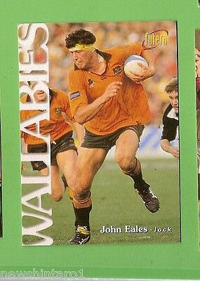 1996 Rugby Union  Card #8 John Eales, Wallabies