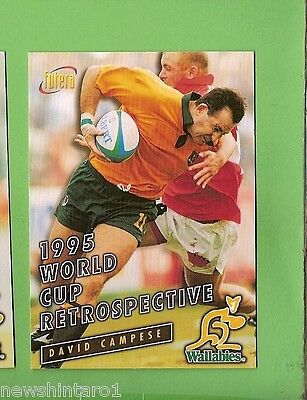 1996 Rugby Union  Card #80 David Campese, Wallabies