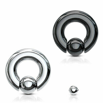 Intimpiercing XXL BCR Ring Clip In Spring Ball Klemmkugel Prinz Albert Piercing