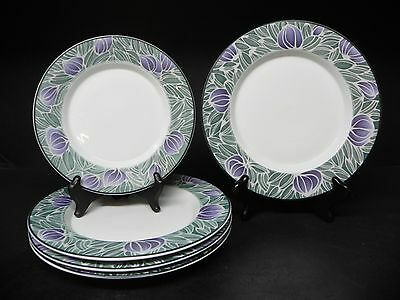 Dansk Eden Lot of 5 Pieces 4 Salad Plates and 1 Bread Plates  ..