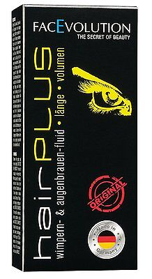 FACEVOLUTION HairPlus Eyelash/Eyebrow Growth Fluid 4.5ml. Free Postage!