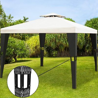 luxus pavillon minzo 3x4 m gartenpavillion gartenm bel partyzelt pavillion eur 209 00. Black Bedroom Furniture Sets. Home Design Ideas