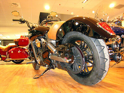 License plate holder for INDIAN SCOUT