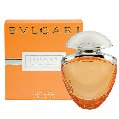 Bvlgari Omnia Indian Garnet 25Ml Eau De Toilette Spray Brand New & Sealed *