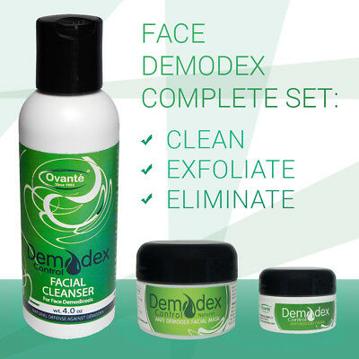Demodex Control® Set: Eliminates Follicle Mites,Treat  Face Skin, Stop Itching