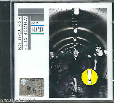 Matt Bianco. Whose Side Are You On (1984) CD NUOVO More Than I Can Bear. Matts'
