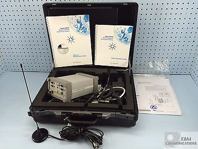 E6452C Hp Agilent 824-849/869-894 Mhz Digital Receiver W/Gps Model E7473A No Sw