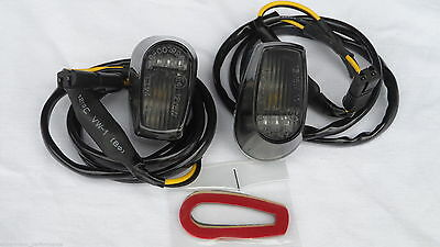 Tinted LED INDICATOR ,Frecce scure,Dark Turnlight, BMW S1000RR / HP4, 09-14